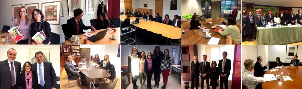 Reuniões e atividades da FAPEG na Holanda e na Espanha.