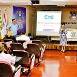 Palestra sobre o CRTI na PUC Goiás.