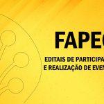 Editais de Participação e Realização de Eventos 2017