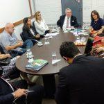 Visita da comitiva da Embaixada da Bélgica à Fapeg.