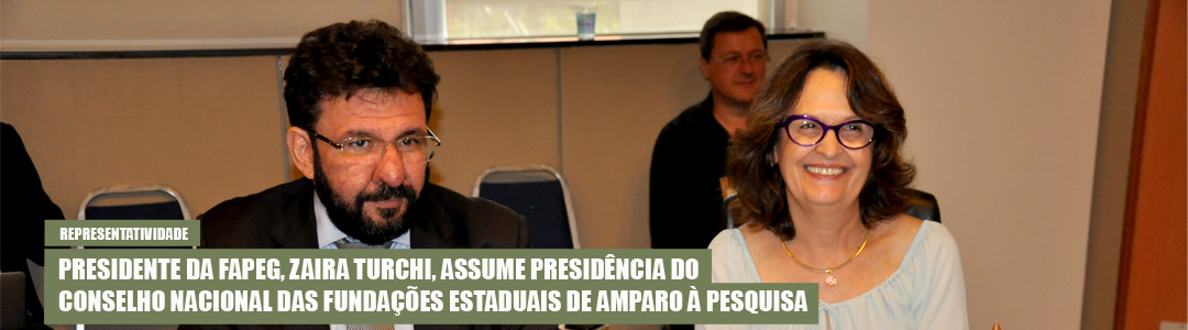 Zaira Turchi presidente do Confap