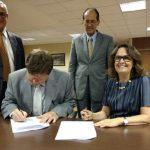 Assinatura Confap e União empreendedorismo