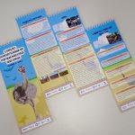 Material será distribuído para estudantes e guias turísticos do Parque.