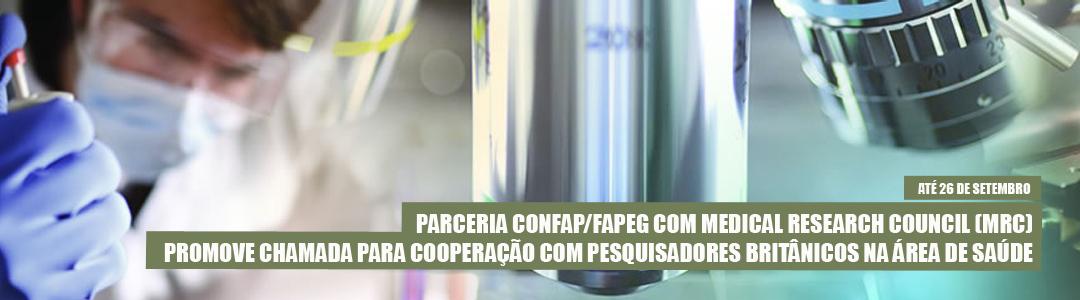 Chamada Fapeg/Confap/MRC