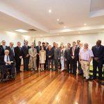 abertura do forum do confap no palácio das esmeraldas