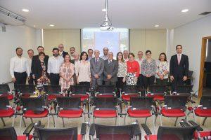 Participantes da reunião do conselho ufg