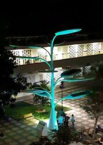 Árvore solar do IFG