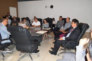 Reunião com o governador do Piauí