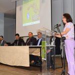 Maria Zaira Turchi na abertura do evento