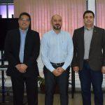 Fapeg e Ifag Edson Alves, Robson Vieira e Fernando Borges