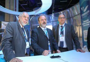 Estande da Embrapii no 8º congresso brasileiro de inovação industrial no Expo SP