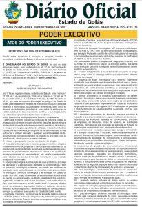 Decreto do marco regulatório de ciencia tecnologia e inovaçao