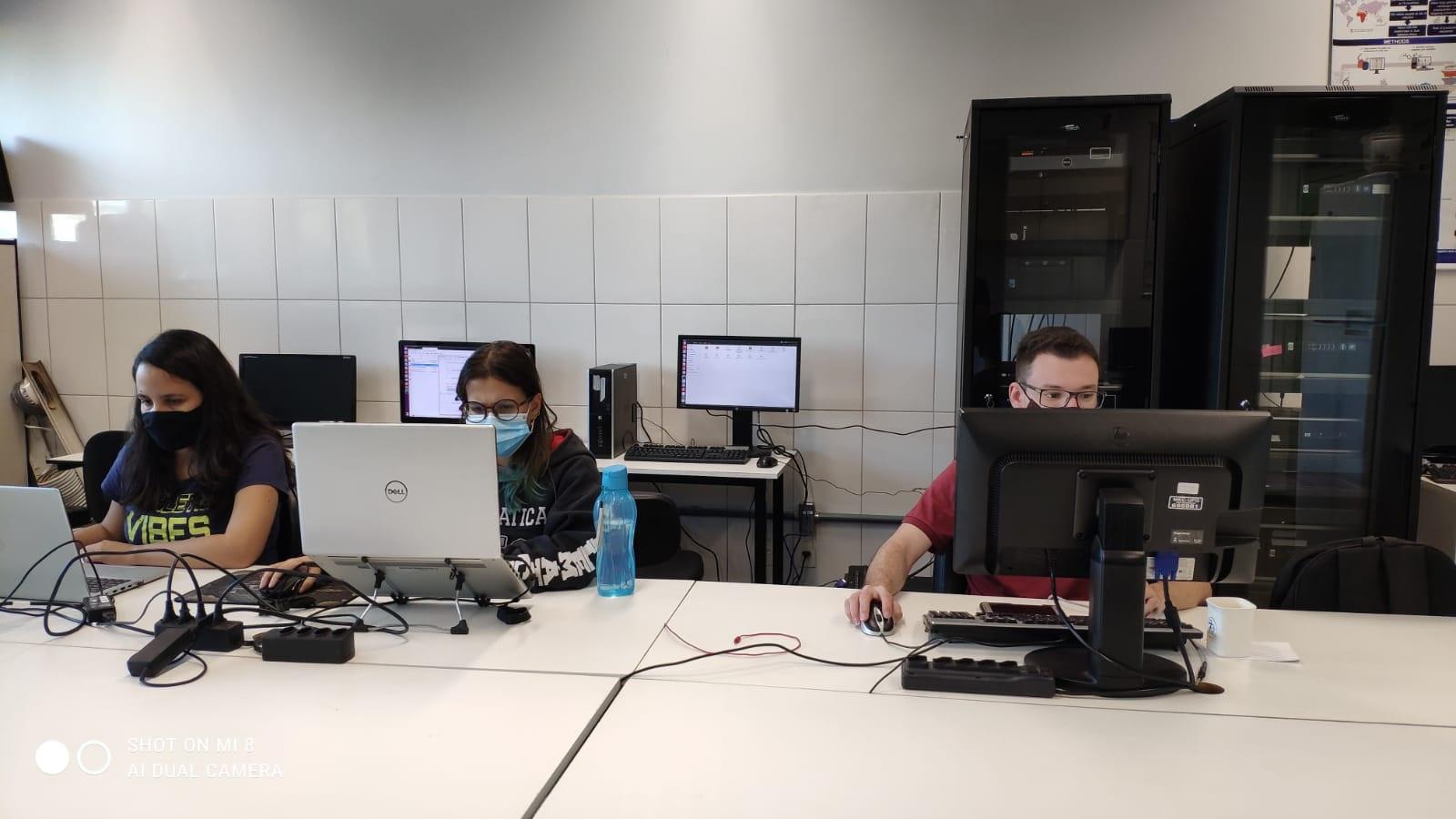 Equipe de pesquisadores