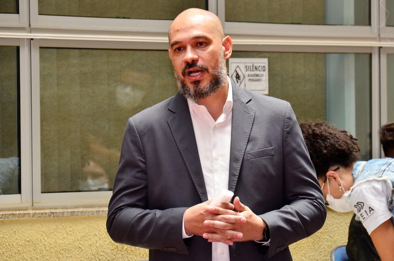 Presidente da Fapeg, Robson Vieira. Foto: Edinan Ferreira/SGG
